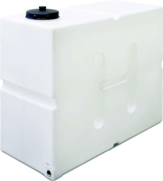 Vattentank för färskvatten 650 liter