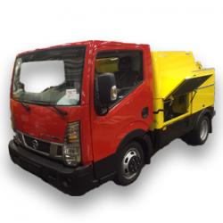 Kombibilar - spolbil och sugbil